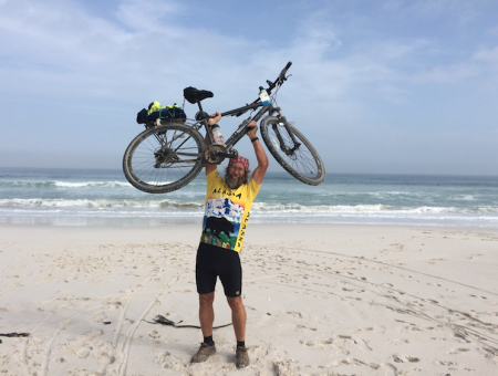 Crossing a continent on two wheels