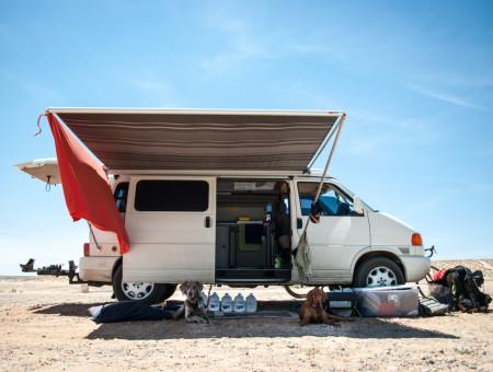 Ten weeks, one campervan