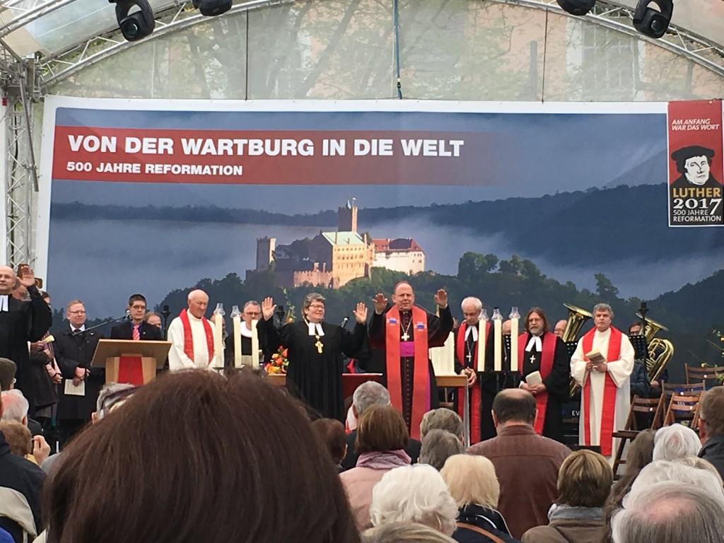 Worship in Eisenach