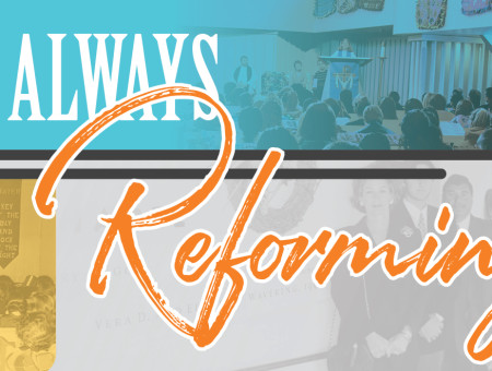 Always Reforming: Spiritual Life & Campus Ministry constantly seeks new ways to connect with students