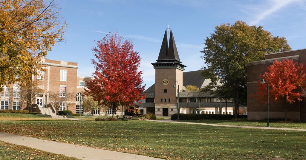 Wartburg Chapel in Fall