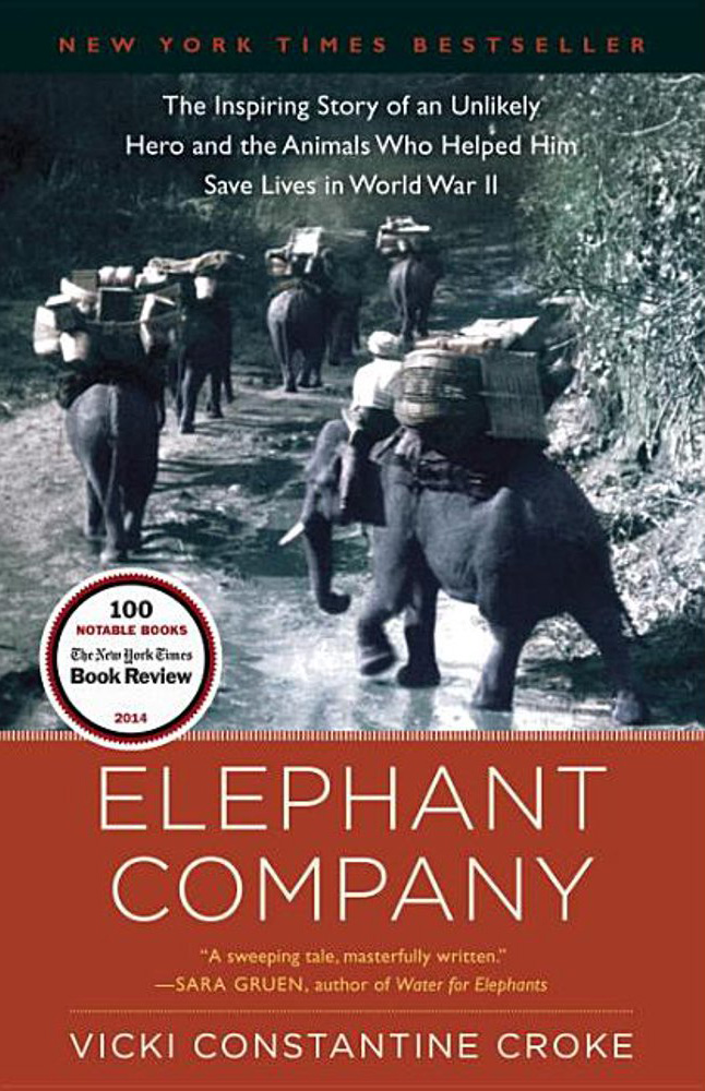 Elephant Company book cover, Hearthside 2021 selection