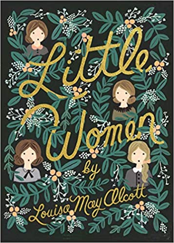Little Women book cover, Hearthside 2021 selection