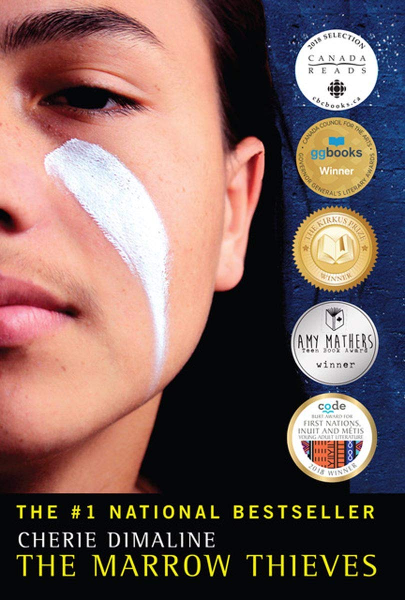 Marrow Thieves, book for Hearthside Project 2021