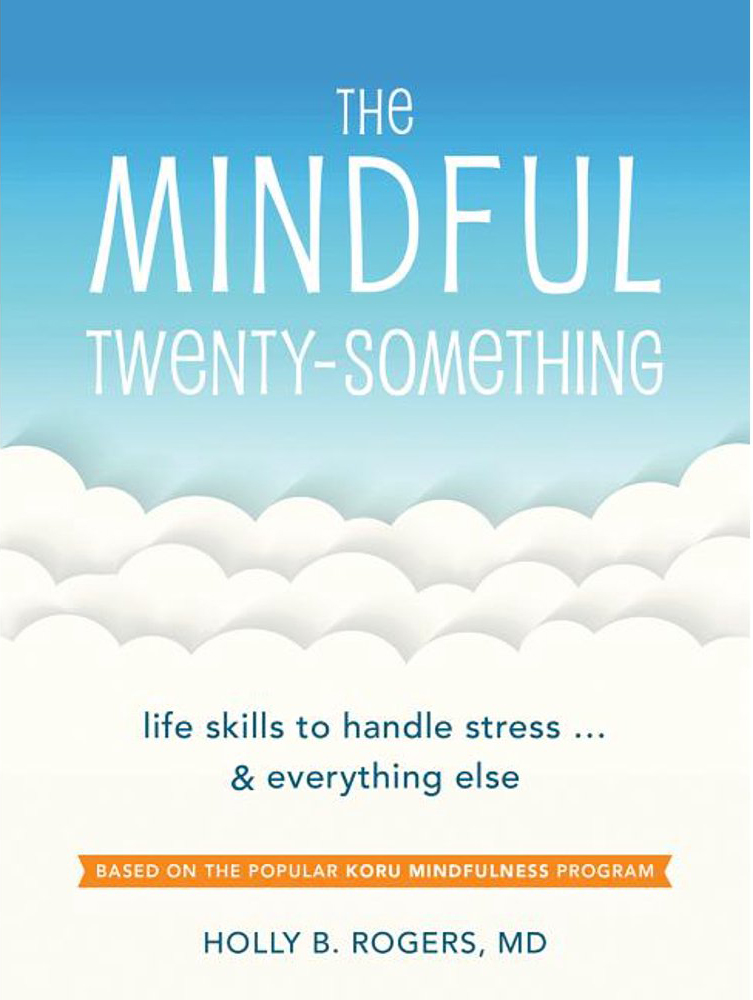 Mindful Twenty-Something book cover, Hearthside 2021 selection