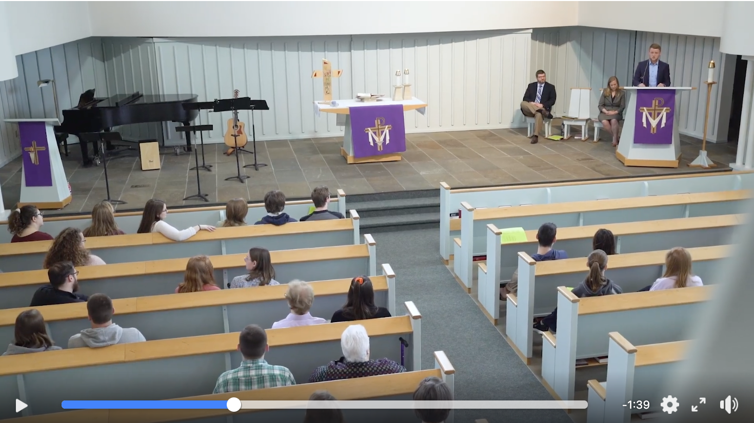Chapel video still
