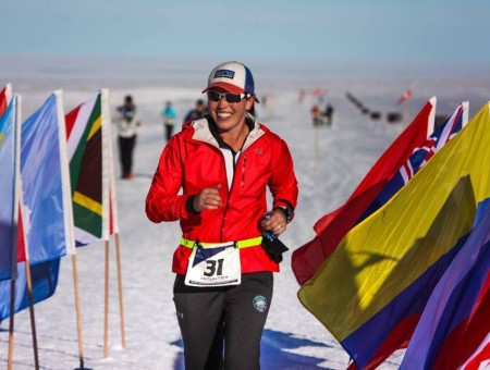 From one extreme to the next: 'Survivor' winner completes seven marathons on seven continents in seven days