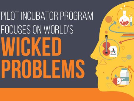 Pilot incubator program focuses on world's Wicked Problems