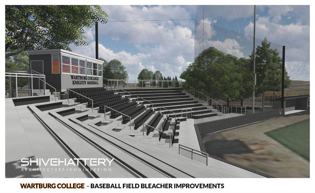 Baseball Seating Rendering