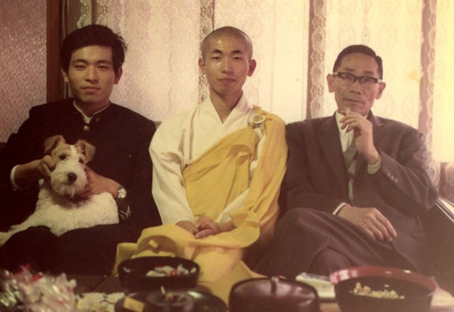 Terasawa Brothers with Father