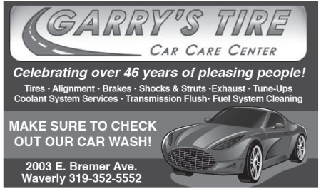 Garry's Tire Ad