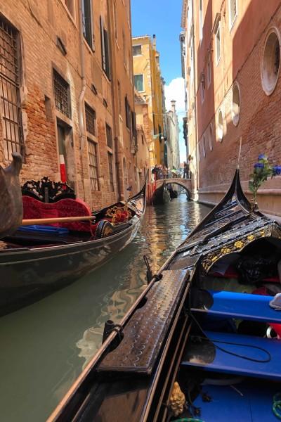 Gondola in Venice by Anna Mugan