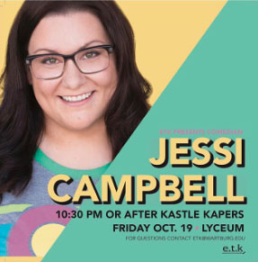 Jessi Campbell - Comedian