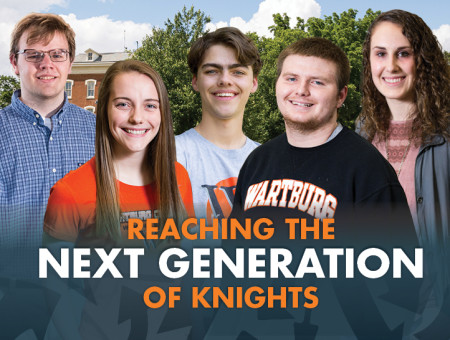 Reaching the next generation of Knights: New referral program engages alumni in the recruitment process