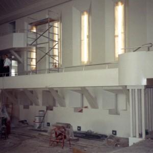 Chapel Interior Construction