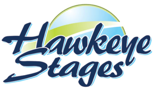 Hawkeye Stages Logo