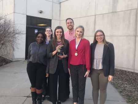 Wartburg students place first at Leadership Challenge Event
