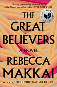 The Great Believers by Rebecca Makkai book cover