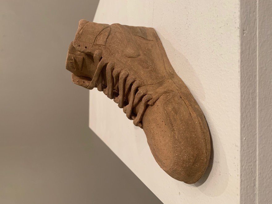 Ceramic Shoe by Katsuya Okonogi