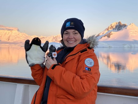 Adventures in Antarctica: Fellowship leads to educational opportunities for teacher