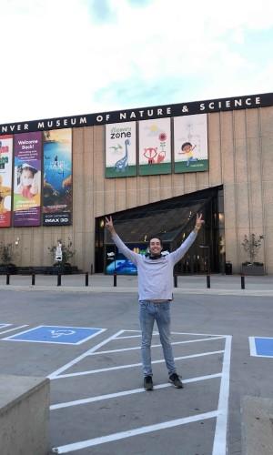 Alex Buchheim spent his summer interning at History Colorado Center through Wartburg West.
