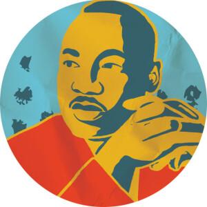 MLK Image Round