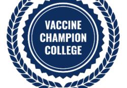 Vaccine Champion College logo