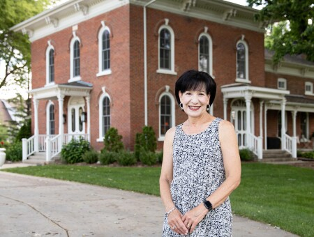 Christy Colson has made it her mission to amass the history of Greenwood and its furnishings as the home enters its 150th year
